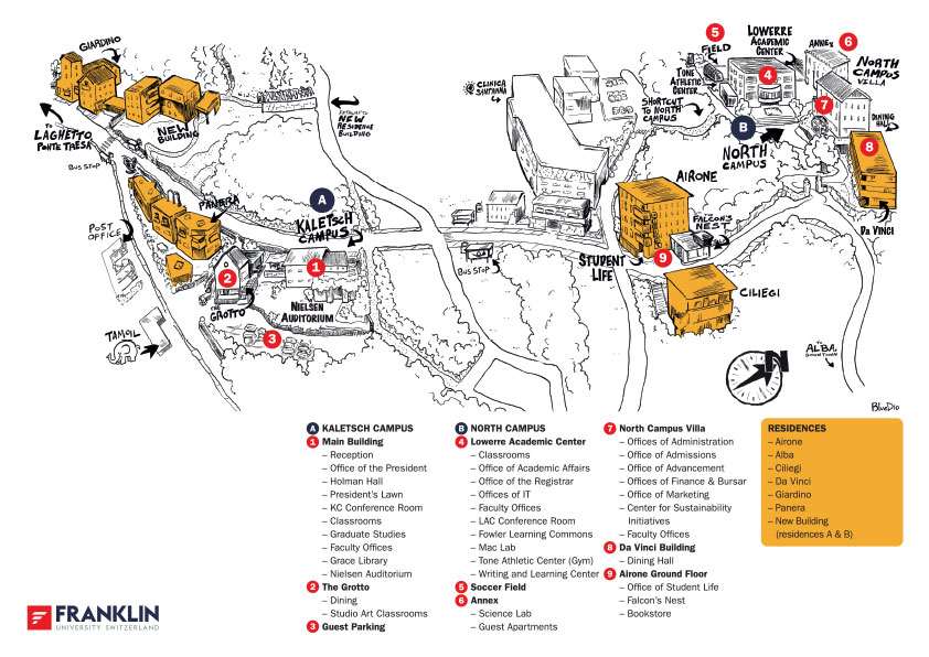 Printable Campus Map (PDF)