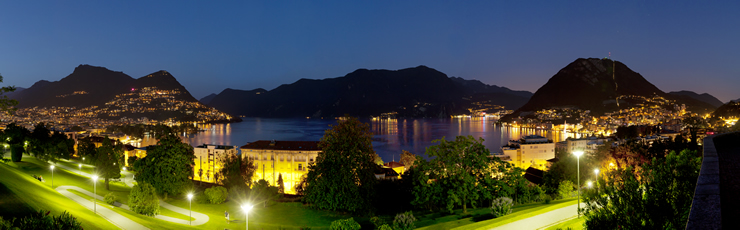lugano night